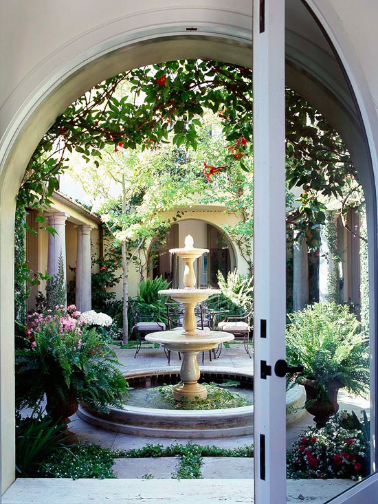 Outdoor Fountain Ideas