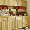 Hide Clutter Behind Cabinetry