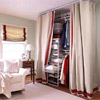 Hide Storage Behind a Curtain