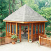 Corner Deck Gazebo
