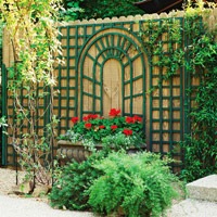 Wall-Mount Trellises