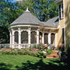 Attached Gazebo with Porch Extension