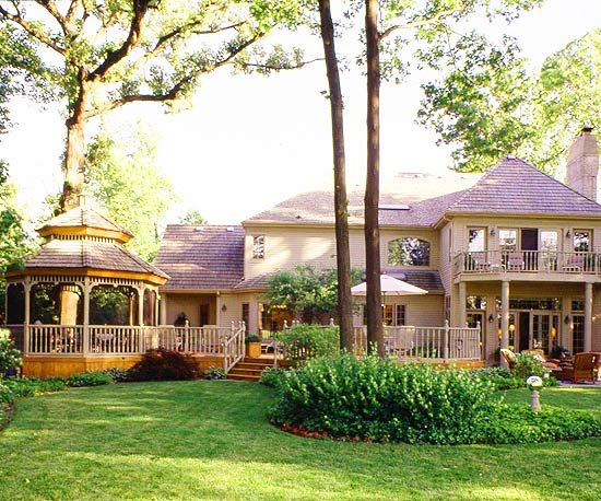 Gazebo Design Ideas: Attached Gazebos