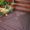 Deck with Nested Square Pattern