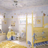 Nursery with Painted Ceiling