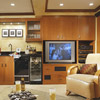Double-Duty Entertainment Center and Storage Space