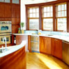 Curved Kitchen Wall