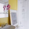 Brightly Colored Bathroom