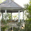 Gazebo Provides a Breezy Space for Sitting
