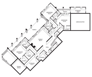 Floor Plan: Lower Level