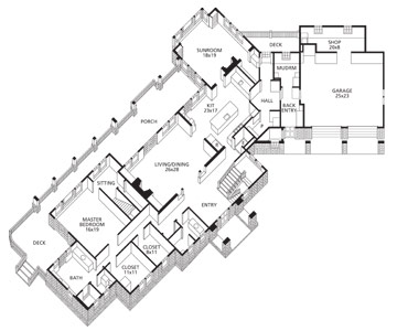 Floor Plan: Main Level