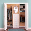 Give your bedroom closet a makeover with a new organization system