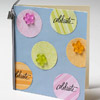 Pastel Circle Punch Birthday Card