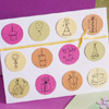 Pastel Birthday Icons Card