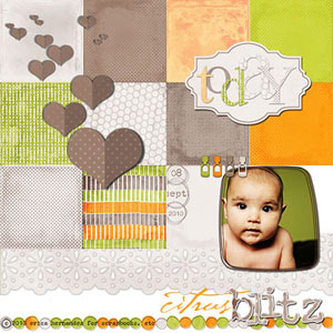 Citrus Digital Scrapbooking Supplies