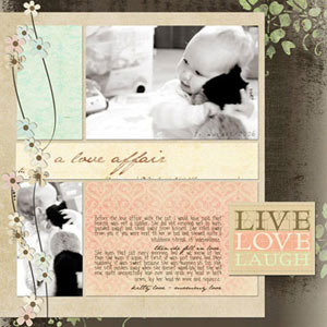 Easy Digital Scrapbook Pages