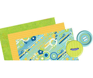 Graphic Pop Digital Scrapbooking Supplies