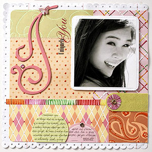 Girl Scrapbook Pages