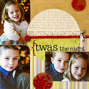 25 Christmas Scrapbook Pages
