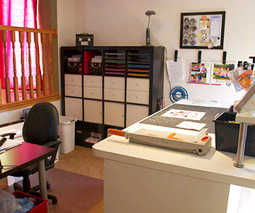 Shared-Space Scrapbooking Studio