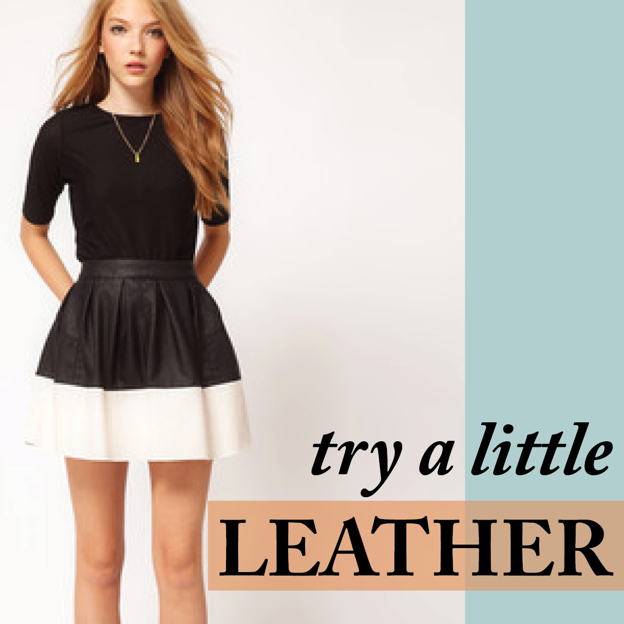 Try a Little Leather