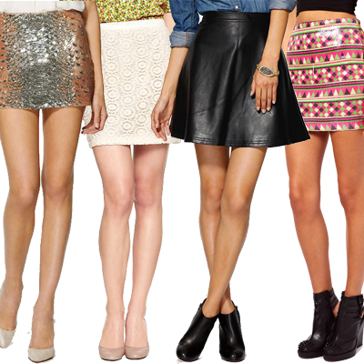 Marvelous Mini Skirts