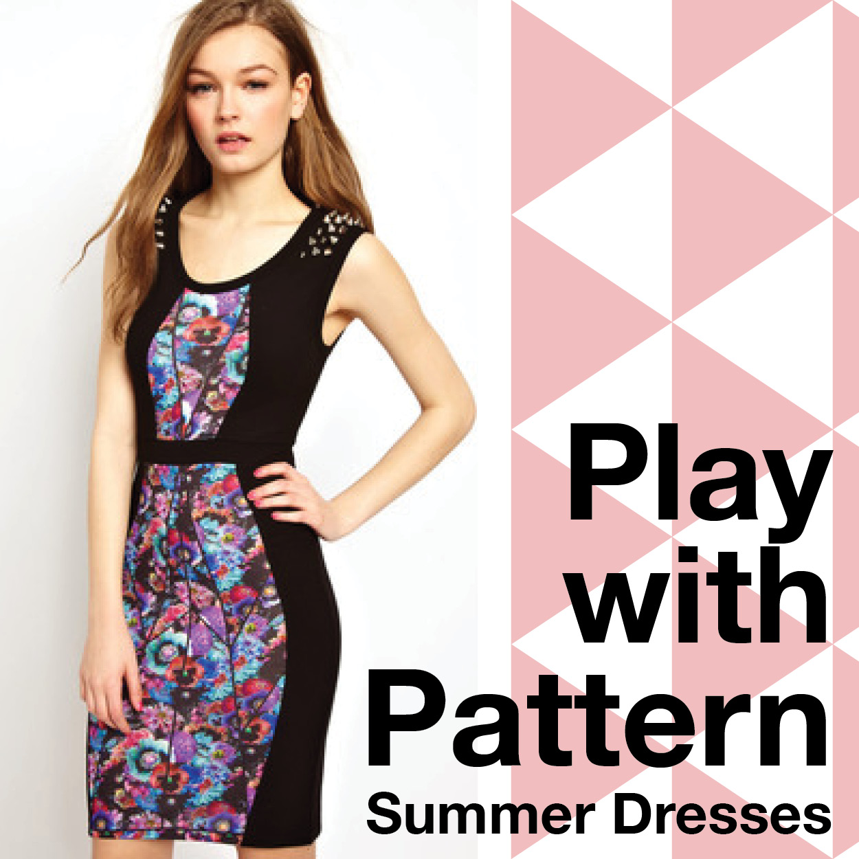 Summer Dresses Play with Prints