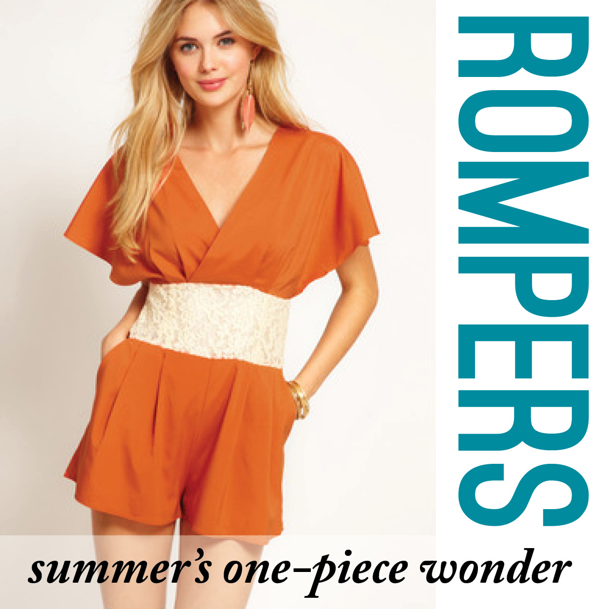 Rompers: Summer's One-Piece Wonder