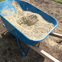 Dry concrete mix