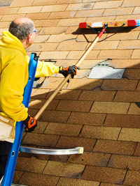 Sweep roof
