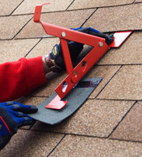 Install roof jack