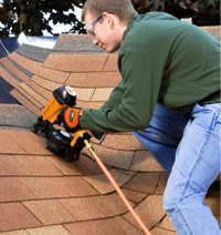 Install shingles up flashing