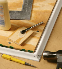 Make corner assembly jig