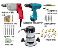 Drilling and Shaping Tools