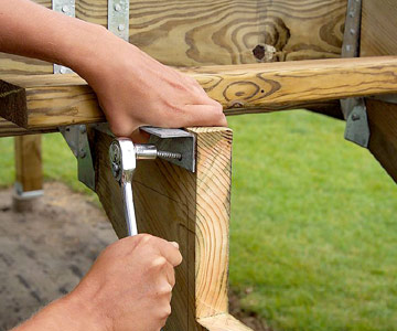 assembling stairs deck building how to design build a deck diy
