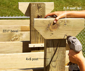 Bench Seat Plans For Deck