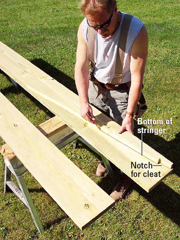 how to build a ramp for a deck