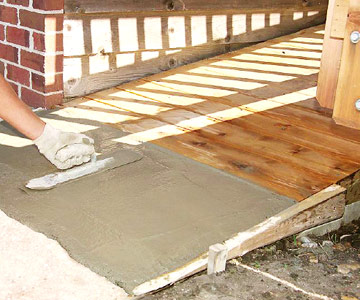 Building A Deck Access Ramp Custom Touches How To