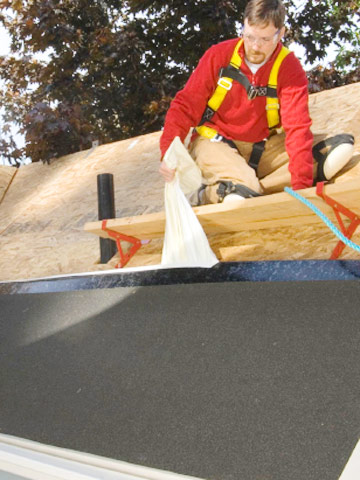 Applying Underlayment How To Install Shingles Roofing