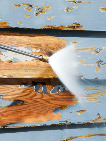 prepping for house painting how to repair siding diy advice. Black Bedroom Furniture Sets. Home Design Ideas
