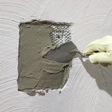 Repairing Stucco - How to Repair Siding. DIY Advice