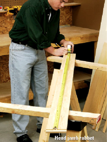Hanging An Old Door In A New Jamb How To Install House