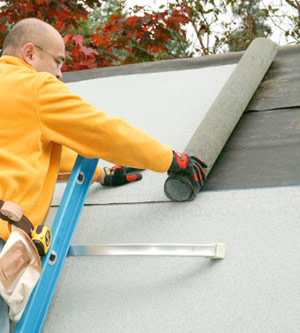 Installing Roll Roofing How To Install Specialty Roof