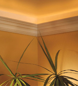 Installing Crown Molding With Uplights How To Cut