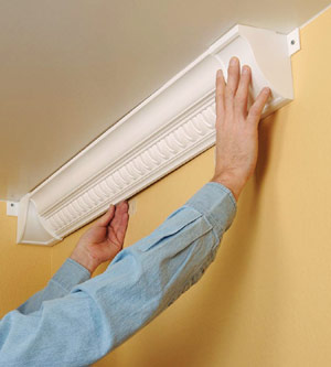 installing plastic crown molding how to cut install crown moldings
