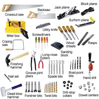 Cutting and shaping tools