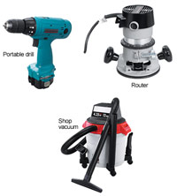 Edging, Drilling and Cleanup tools