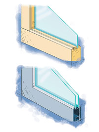Types of glazing