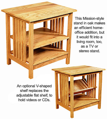 diy mission style furniture