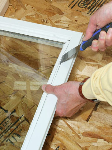 Replacing Window Glass How To Repair A Window Diy Advice
